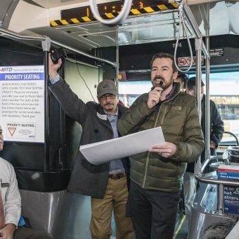 CCP Bus tour on Wednesday, January 9, 2019.