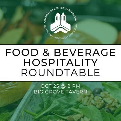 Food/Beverage Roundtable